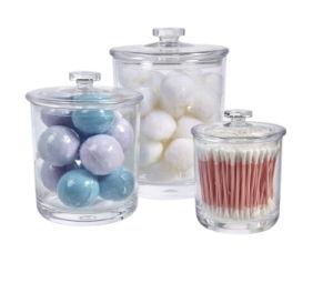 Qualidade Premium Boticário boiões de vidro