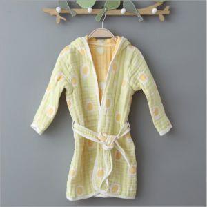 f35a7897ce 6 capas muselina de algodón a los niños Albornoz pijamas