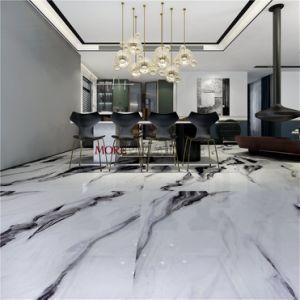 Polidos Panda Mármore Branco Porcelana piso em cerâmica e azulejos de parede