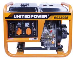 Air-Cooled, предметы домашнего обихода, Электрический пуск однофазного переменного тока 1.7kw-2квт дизельного генератора в чрезвычайных ситуациях
