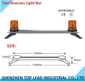 Het hoogtepunt plaatste lang 129cm Twee LEIDENE van Bakens Lichte Staaf die Lichte Staaf met de Goedkeuring van Ce waarschuwt