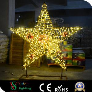 Riesige LED Stern-Lichter der Feiertags-Dekoration-