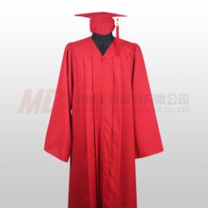 822a3b34a De rojo y negro mate de Graduación de Escuela Secundaria Bata tapa ...