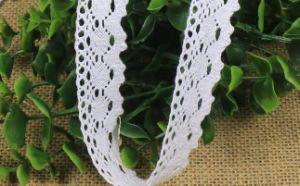 2.5cmの衣服のアクセサリのためのOne-Side綿のレース