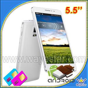 A buon mercato 5.5 Inch Mtk6582 Quad Core 1g/8g Android 4.4 Cina Smartphpone