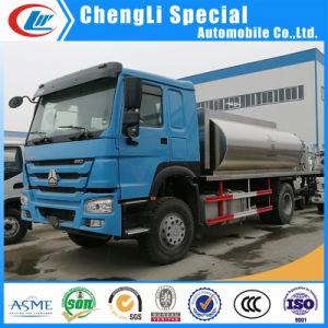 De Dongfeng Verwarmde Vrachtwagen van de Verdeler van het Asfalt van het Bitumen Bespuitende