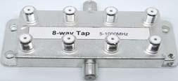 5-1000robinet 8 voies MHz répartiteur CATV