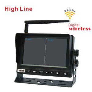 El sistema de monitoreo de la cámara inalámbrica para camiones y remolques con receptor inalámbrico digital de 2,4 Ghz