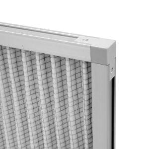 5um porosité ac Four plissé du filtre à air