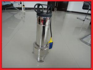 가정용 304 스테인리스 잠수할 수 있는 펌프 (WQ15-7-0.75KW)를 위한 배수장치 폐수