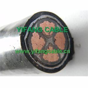 0.6/1kv, Baixa Tensão Cu/XLPE/PVC N2xy do cabo de alimentação
