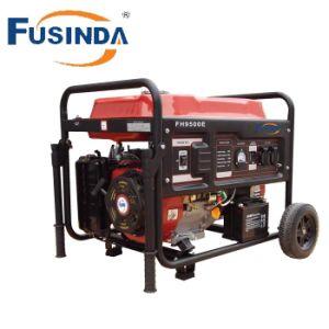 Generatore variabile 7kw della benzina di inizio di tasto di frequenza