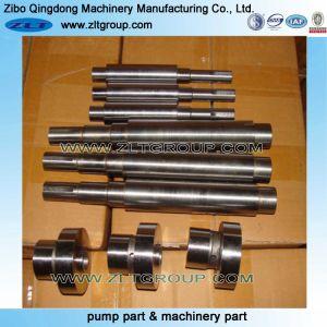Usinage de pièces de l'arbre de la pompe de l'industrie minière pour la vente dans le CD4/316ss