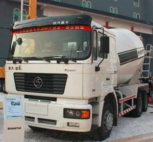 Camion della betoniera del cemento di Shacman del macchinario edile