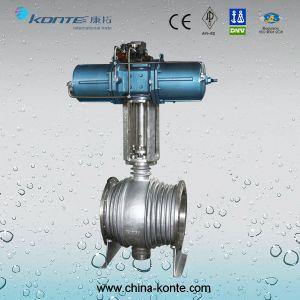 Montagem do munhão do pipeline pneumático da válvula esférica com dispositivo de Extensão