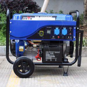 バイソンAC単一フェーズの携帯用ガソリン7.5 KVAの発電機の価格