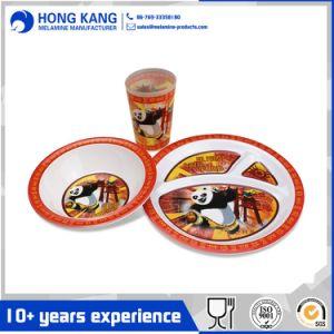 Diseño personalizado de vajillas de melamina cena de cocina