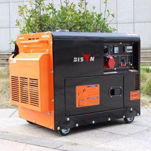バイソン(中国) BS6500dse 1年の保証5kwの電気ディーゼル発電機