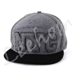 ジャージーはヒースの灰色の急な回復の帽子を編んだ