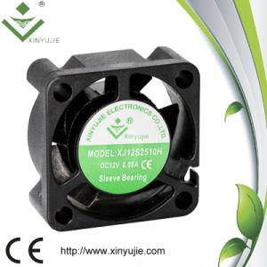 Ventilatore di CC di Shenzhen Xinyujie del ventilatore ad alta velocità 2510 di ventilazione con il cuscinetto a manicotto