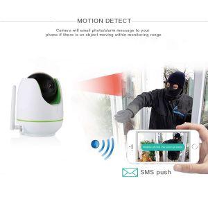 Drahtlose Baby-Monitor WiFi Kamera-Bewegung, die mit Überwachungskamera-Gehäuse aufspürt