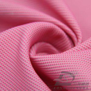 75D 220t Pongées Tecidos Jacquard listrado 100% de tecido de poliéster (M63025L)