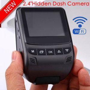 Cámara del coche de HD1080p de la venta caliente 2.4  con el rectángulo negro de Sony; G-Sensor; WDR; Función DVR-2408 de la visión nocturna