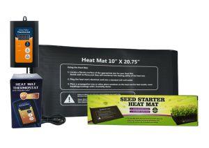 Stuoia di calore e regolatore del termostato