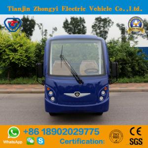 Zhongyi 2 Lugares 2 Ton Baixa Velocidade fora de estrada com certificado CE caminhões de carga elétrica
