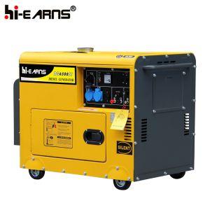 5 квт небольшие портативные автоматическая дизельного генератора (DG6500SE с САР)