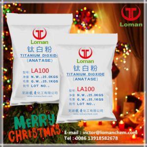 Het Gebruik van het Pigment van het Dioxyde van het Titanium van het Type Anatase van Loman La100 voor Sterke Verbergende Macht
