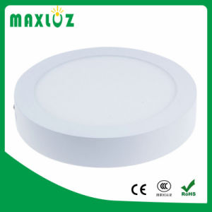 Surface Mounted AC85-265V 12W na luz de tecto LED redondos