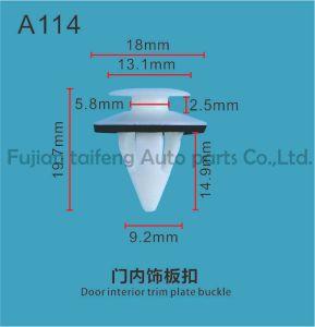 Fecho automático abraçadeiras plásticas /clipes de fixação interna do paralama para Suzuki Vitara/SX4