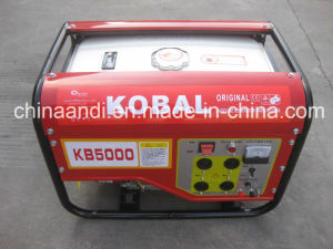 Kobal 4kVA/4kwの交流発電機のホーム使用の無声ガソリンまたはガソリン発電機