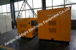 150kw 50Hz schalldichte elektrische Generator-Set-Cummins-Dieselmotor 6CTA8.3-G2 ISO-Zustimmung