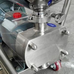 De Vloeistof van de Kwab van de Rotor van het roestvrij staal/de Pomp van de Overdracht van de Chocolade met Vultrechter