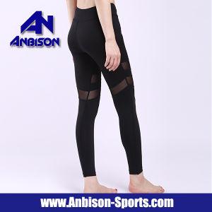 Pantaloni lunghi di forma fisica delle donne vuote sexy di compressione