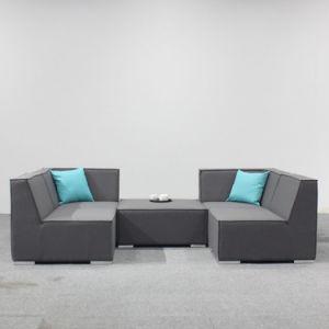 Gewebe gepolsterte Sofa-im Freienmöbel für Hotel-Großverkauf-Patio-Möbel