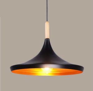 Lámpara colgante de aluminio negro mate para Comedor