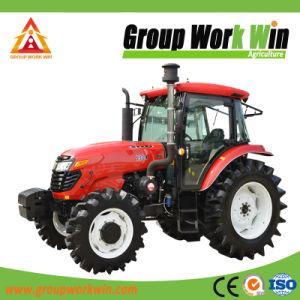110HP 4WD Quatro Diesel Trator de Rodas Fazenda/Mini/Diesel/jardim grande/tractor agrícola