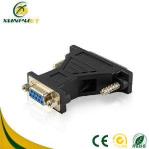 Adaptador de Energia de PCB do pino 9 do conector dB