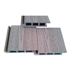 Decking de madeira plástico, revestimento ao ar livre (HO03155)