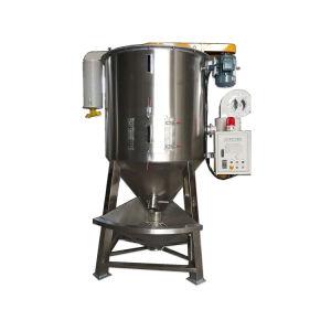 Materia Prima de plástico maquinaria amasadora Mezcladora horizontal o vertical para polvo compuesto de PVC máquina mezcladora