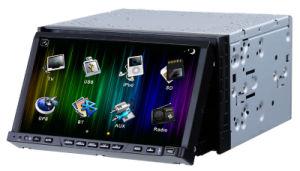 Doppia navigazione dell'automobile DVD GPS con Bluetooth, TV, radio, programma libero di GPS (RTD720)