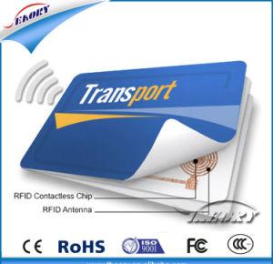 Рч11FM08 Smart Chip пустым ПВХ бесконтактный считыватель карт IC