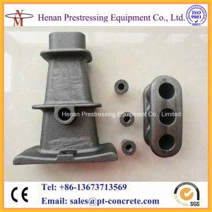 12.7mm Anker van de Plak van de Spanning van 3 Bundels en van 5 Bundels het Post