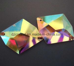 Parels van het Kristal van het kledingstuk Ab de Vlakke van Los Glas (DZ-3070)