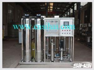 1 T/H phase unique RO Usine de traitement de l'eau, l'eau industrielle, l'eau potable, RO et équipements de traitement de l'eau pure, option de langue français