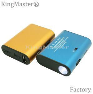 Velocidad de la alta calidad de Kingmaster que encarga la batería de la potencia 4400mAh del cable