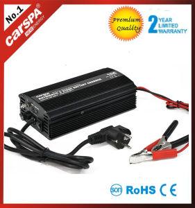 12/24V 60Aの臨時雇用者が付いているデジタル表示装置を持つ自動7つの段階の充電器。 補償